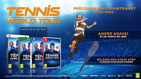 tennis world tour bonus précommande xbox one switch ps4 pc