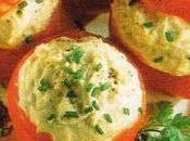 Tomates farcies crème thon brousse