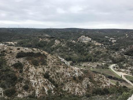 Gard rhodanien vu d'en haut
