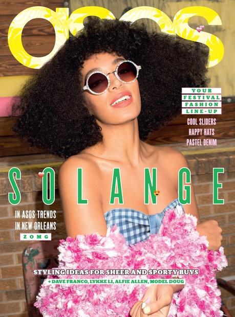 Le magazine ASOS fête son 100ème numéro avec un casting de choc