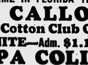 March 1933: don't miss Calloway Tampa,