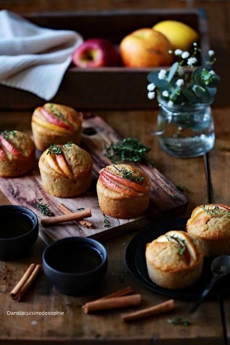 Muffins pomme-shorgo