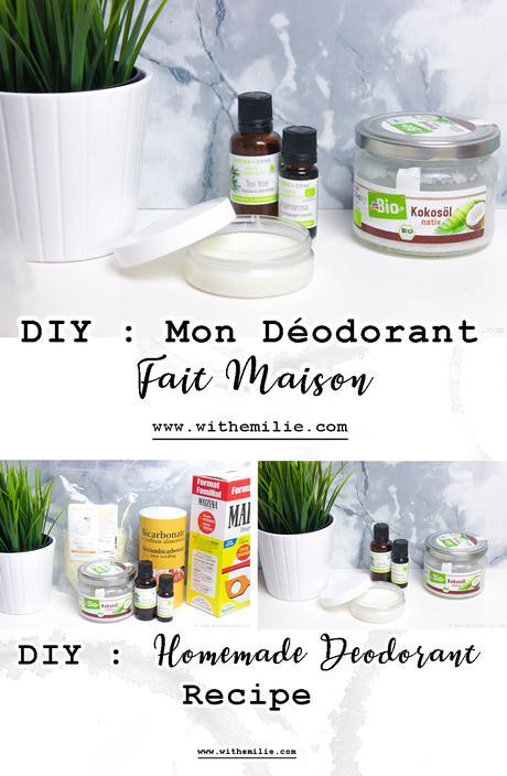 Faire son Déodorant Maison : Avis et Recette | Homemade Deodorant