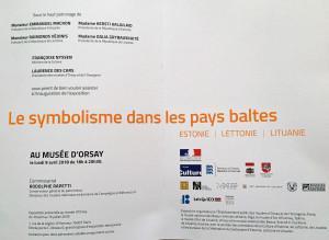 Musée d'Orsay « Le Symbolisme dans les pays baltes » Estonie-Lettonie-Lituanie- 10 Avril au 15 Juillet 2018