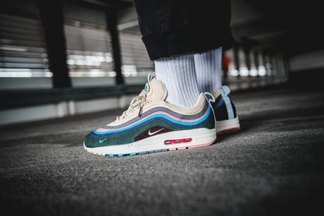 Histoire Air Max 1/97 on foot