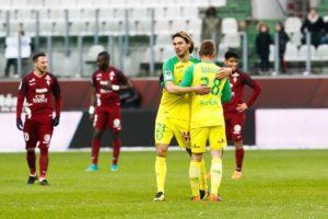 Match nul 1 but partout entre Metz et Nantes