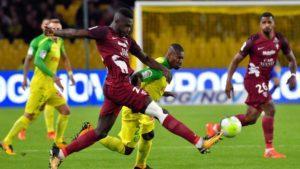 Metz et Nantes ont fait match nul 1 but partout