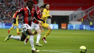 Le PSG s'est imposé 2 buts à 1 à Nice