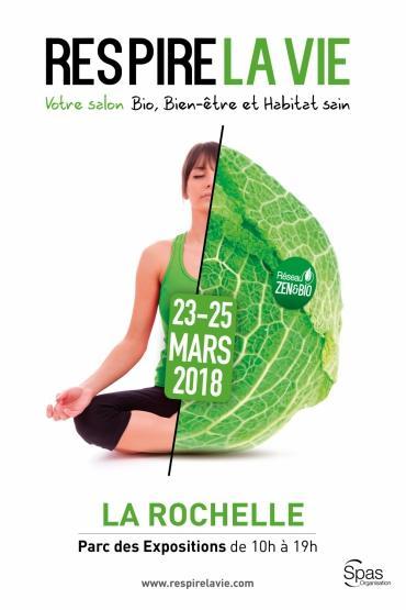 Respire la vie : un salon bio et bien-être à La Rochelle du 23 au 25 mars
