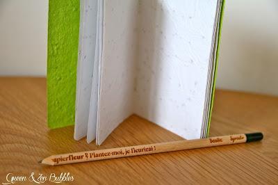 Le papier ensemencé, c'est tendance !