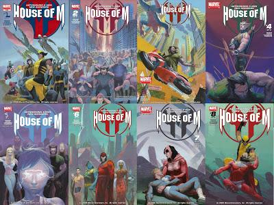 HOUSE OF M : SUPERBE EDITON BLACK AND WHITE CHEZ PANINI