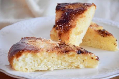 La tarte au sucre ardennaise