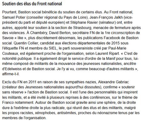 ces élus du #FN qui soutiennent les nazillons du #BastionSocial
