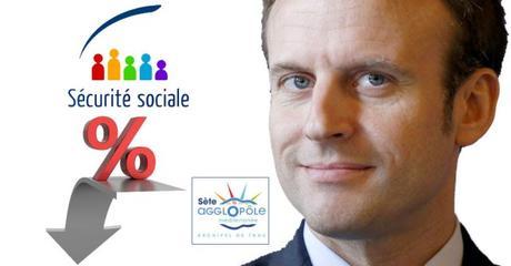 Macron plombe la sécu.