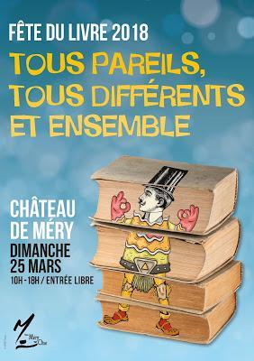 Salon du livre de Méry-sur-Oise – Mars 2018