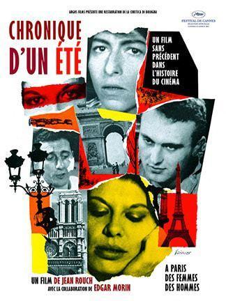 Rendez-vous du documentaire, Chronique d'un été d'Egar Morin et Jean Rouch, mardi 27 mars à Lumière Bellecour