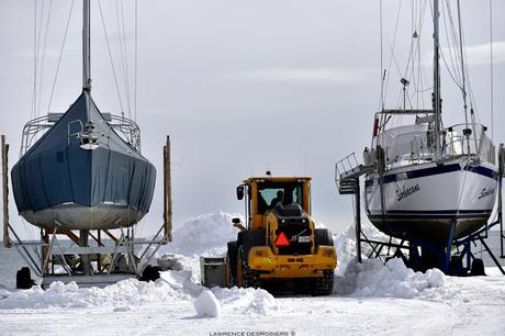 Les pêcheurs de crabes se préparent...