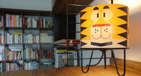 lampe de chevet Minilum pour chambre bébé ou chambre enfant par E-Glue Design