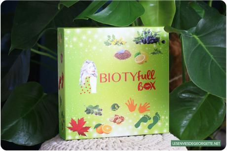 Biotyfull Box de mars : la coup de pouce