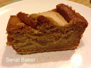 Cake poire et gingembre