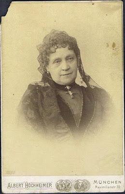 Marie Dahn-Hausmann, une actrice proche de la famille royale bavaroise