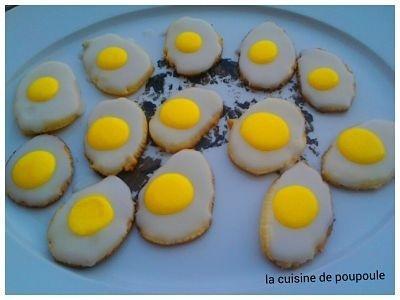 Sablé oeufs pour Pâque au thermomix ou sans