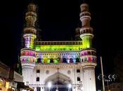 promenade travers lieux historiques d'Hyderabad