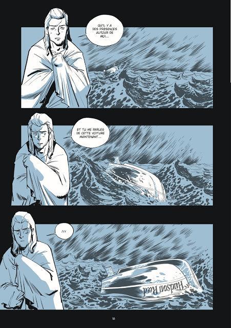 Puzzle BD page 18 chez Ankama éditions