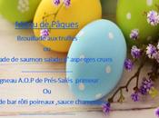 Menu Pâques