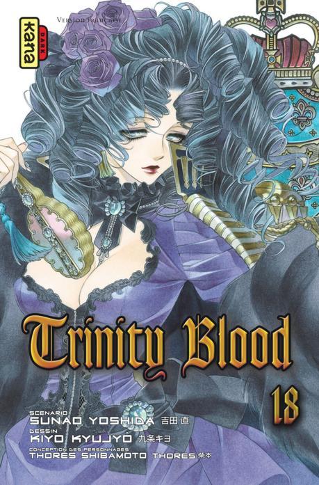 Fin annoncée pour le manga Trinity Blood