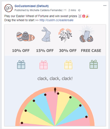 Easter Sale Facebook Post