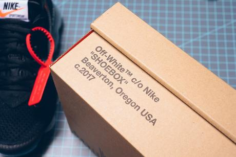 Off White x Nike Air Vapormax Black