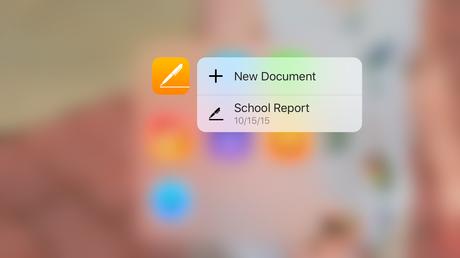 Les Apps 100% Apple sur iPhone, Pages, keynote, Numbers font leurs MAJ en version 4.0