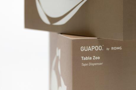 Table Zoo, le set de rangement de bureau du studio Rong