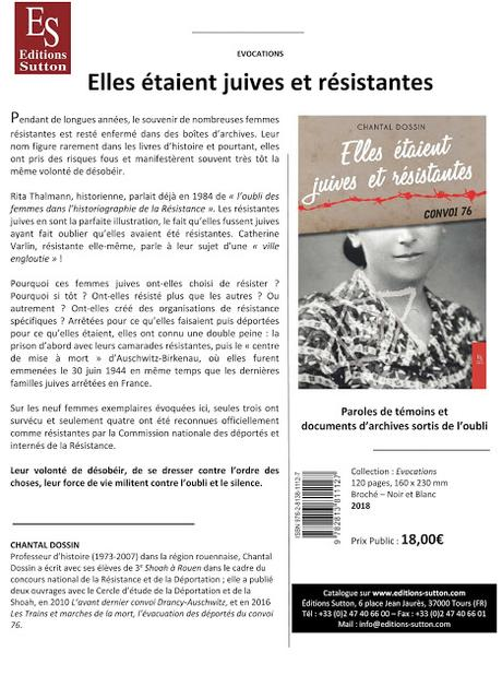 Chantal Dossin signera son livre samedi 31 mars 2018 A la Page à Louviers