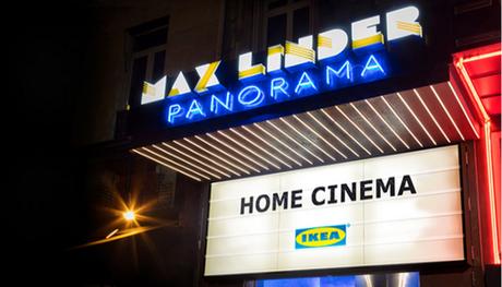 Home Cinéma Ikéa au cinéma Max Linder