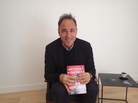 Au cœur de la construction d'un polar avec Anthony Horowitz