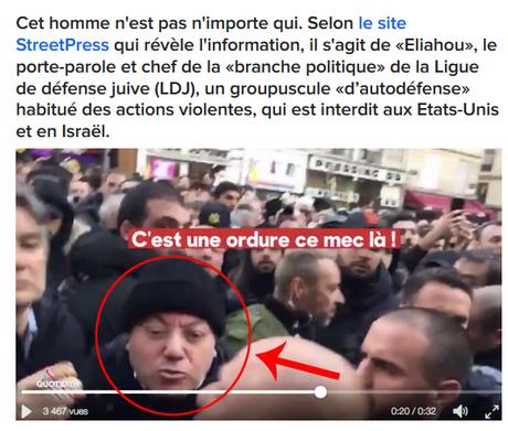 Où l'extrême-droite israélienne haineuse maquée avec le #FN vient exporter ses conflits en fRance… #LDJ