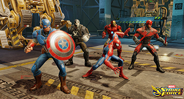 MARVEL Strike Force android ios gratuit rpg1