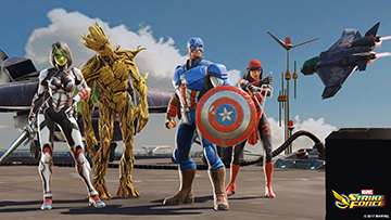 MARVEL Strike Force android ios gratuit rpg12