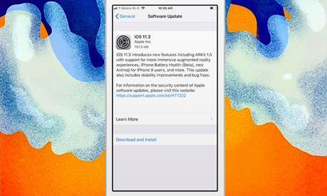 iOS 11.3 disponible sur iPhone et iPad : Les nouveautés