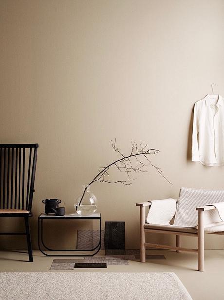 salon couleur lin decoration minimaliste masculine