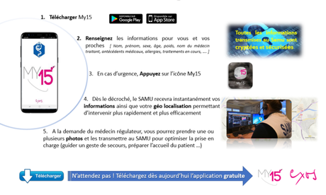 My 15, l'application en passe de révolutionner l'appel au SAMU
