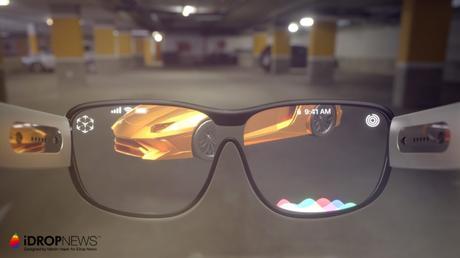 Apple Glass : un concept alléchant de lunettes AR