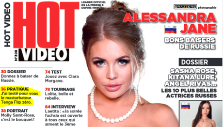 (Hot Video Magazine Mars 2018) Mise en avant du Tenga Flip ZERO