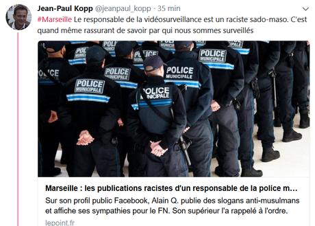 A #Marseille, la police de proximité à une drôle de gueule…