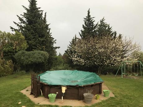 Soir de grêle dans le Gard