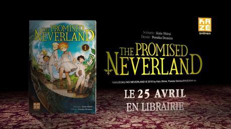 [Vidéo] De nouveaux trailers pour le manga événement The Promised Neverland chez Kazé