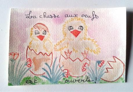 Les cartes postales aquarelles : nouveauté Doudouédition.fr !