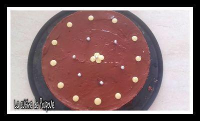 Cheesecake au chocolat sans cuisson au thermomix (sans gluten)